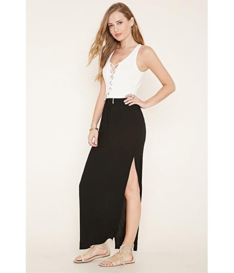 Imbracaminte Femei Forever21 M-Slit Maxi Skirt Black