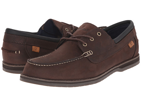 Incaltaminte Barbati Timberland Alton Bay 3 Eye Boat Shoe Brown