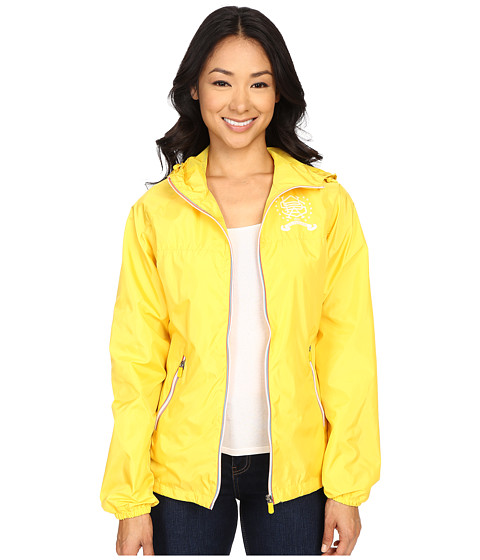 Imbracaminte Femei US Polo Assn Hooded Windbreaker Jacket Sailing Yellow