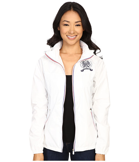 Imbracaminte Femei US Polo Assn Hooded Windbreaker Jacket White