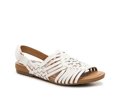 Incaltaminte Femei Sofft Bartlett Flat Sandal White