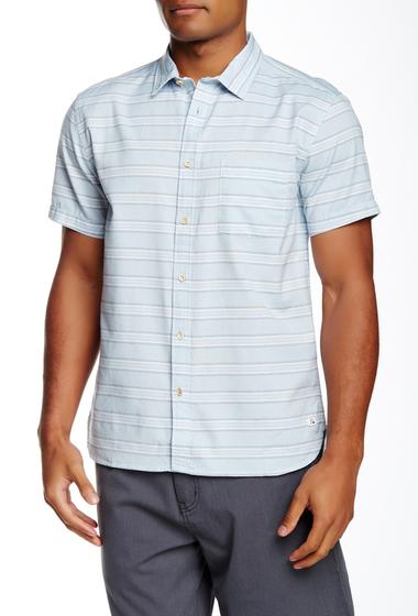 Imbracaminte Barbati Quiksilver Sea Jam Striped Short Sleeve Modern Fit Shirt BFG5-SEAJAMFALLSANGE