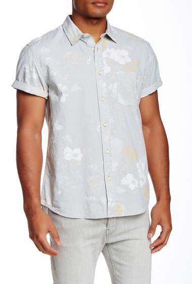 Imbracaminte Barbati Quiksilver Floral Storm Short Sleeve Modern Fit Shirt SGR6-FLORAL STORM HR