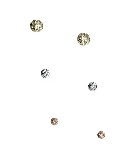 Bijuterii Femei GUESS Mixed-Metal Fireball Stud Earrings Set rose gold