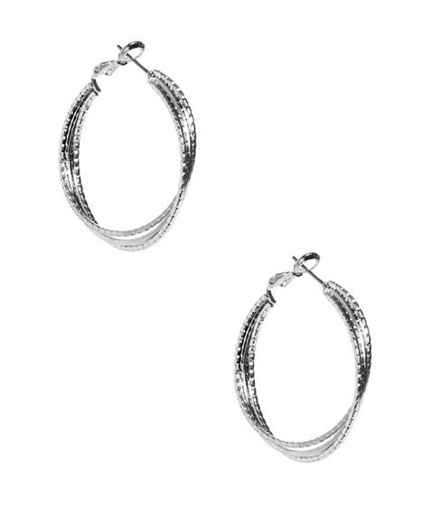 Bijuterii Femei GUESS Stardust Silver-Tone Multi Hoops silver