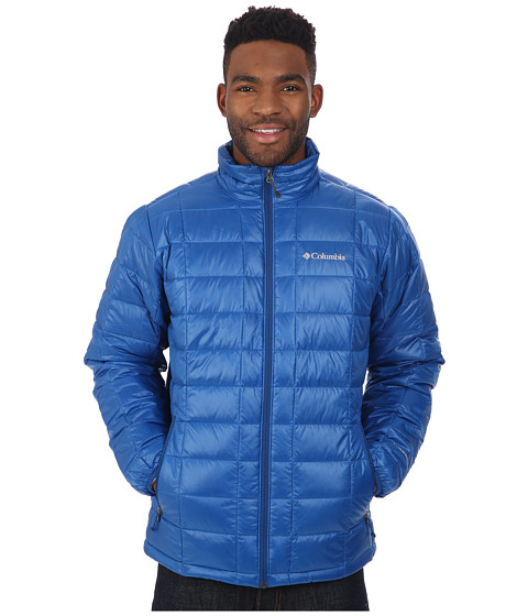 Imbracaminte Barbati Columbia Trask Mountain 650 TurboDowntrade Jacket Marine Blue