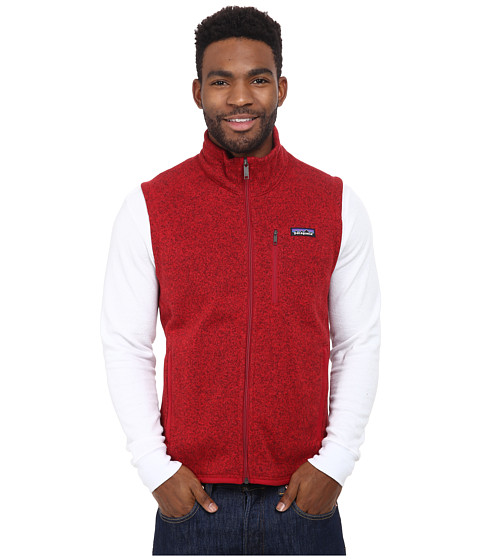 Imbracaminte Barbati Patagonia Better Sweater Vest Classic Red