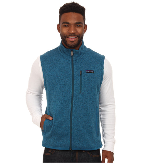 Imbracaminte Barbati Patagonia Better Sweater Vest Underwater Blue