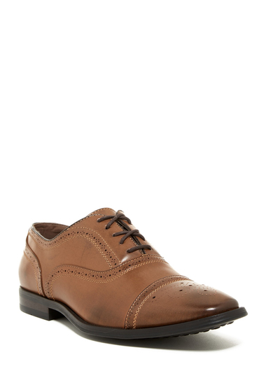 Incaltaminte Barbati Giorgio Brutini Baylor Cap Toe Oxford BROWN