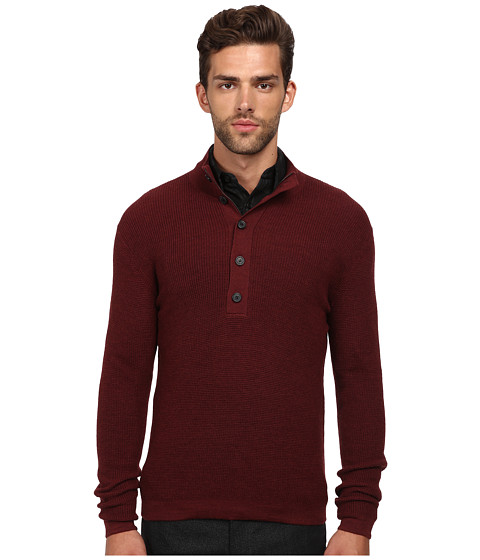 Imbracaminte Barbati Theory VillenCashwool Sweater Light Claret