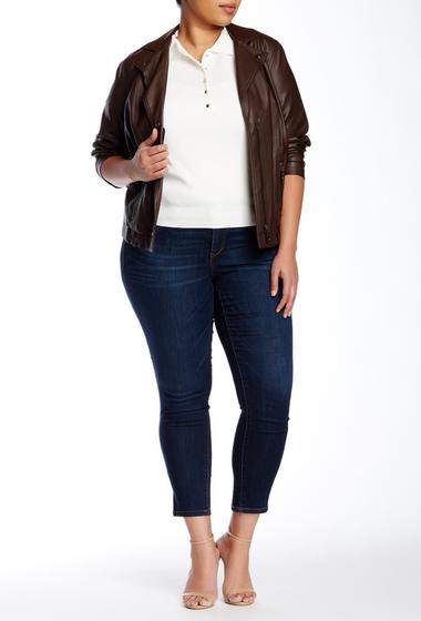 Imbracaminte Femei Democracy Absolution Skinny Jean Plus Size BLUE 5