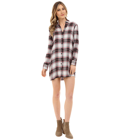 Imbracaminte Femei BB Dakota Nikki Yarn Dyed Rayon Shirt Dress Multi