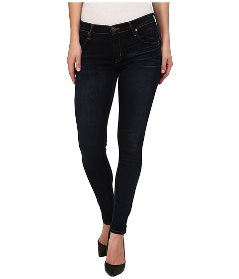 Imbracaminte Femei Hudson Lilly Midrise Ankle Skinny w Flap Jeans in Oracle Oracle