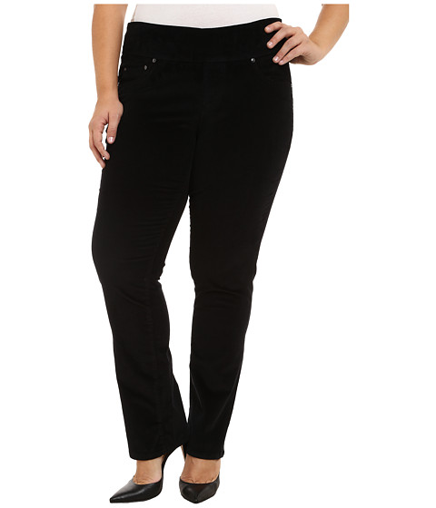 Imbracaminte Femei Jag Jeans Plus Size Peri Pull On Straight Jeans in Black Black