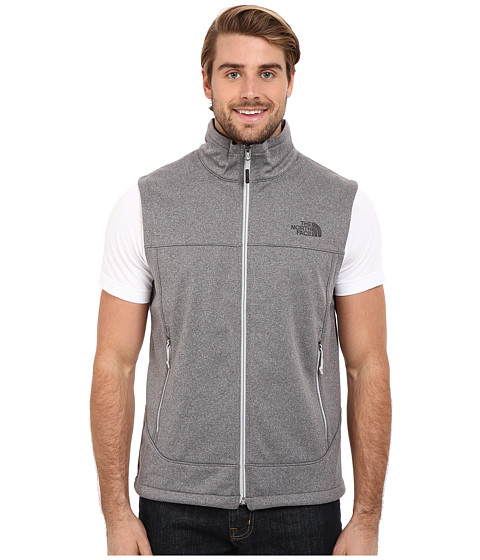 Imbracaminte Barbati The North Face Canyonwall Vest High Rise Grey Heather