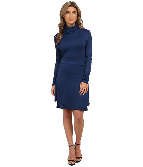 Imbracaminte Femei kensie Sheer Viscose Tee Dress KS0K7734 Midnight Navy