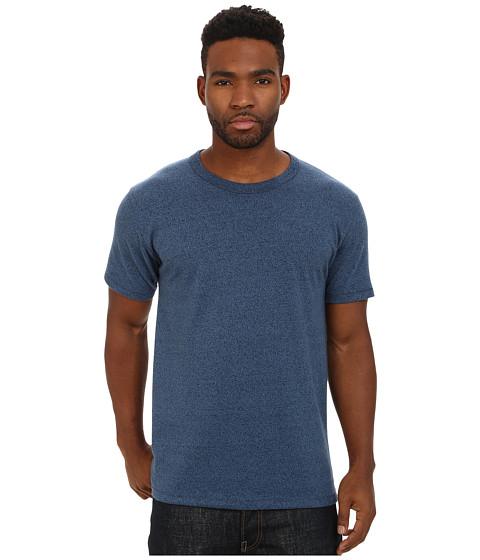 Imbracaminte Barbati Alternative Apparel Mock Twist Nostalgia T-Shirt Eco Mock Midnight