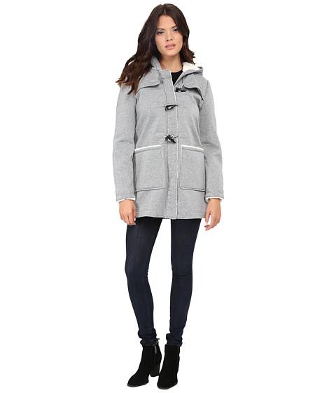 Imbracaminte Femei Jessica Simpson Fleece Duffle Coat with Hood Grey