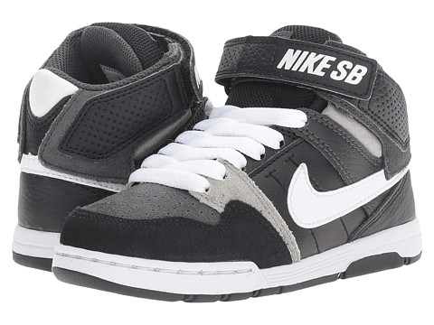 Incaltaminte Baieti Nike Mogan Mid 2 Jr (Little KidBig Kid) AnthraciteWhiteBlackMid Grey