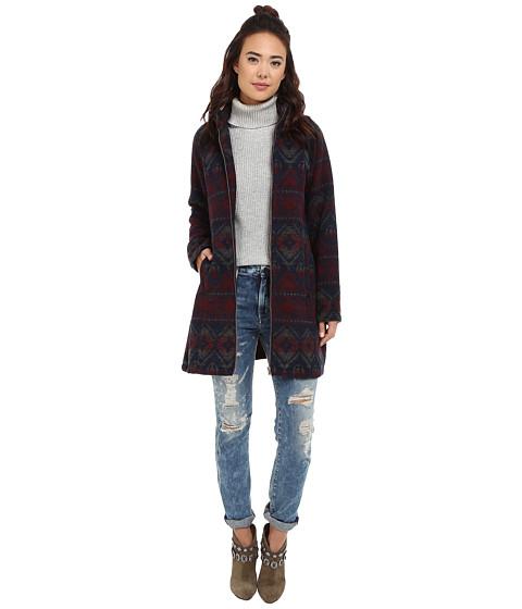 Imbracaminte Femei BB Dakota Chia Jacquard Swing Coat Multi
