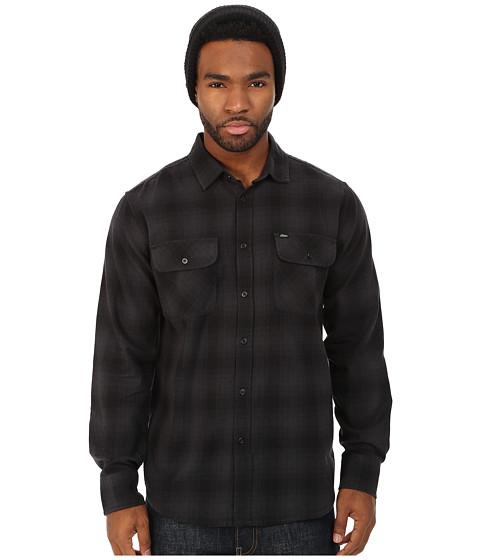 Imbracaminte Barbati Obey Huddle Long Sleeve Woven Shirt Black Multi
