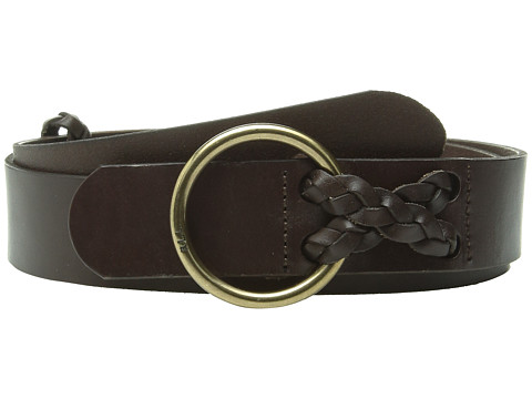 Accesorii Femei LAUREN Ralph Lauren Classics 1 12quot Veg Leather Equestrian Burnished Brown