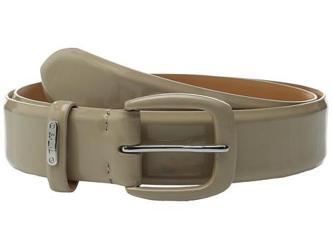 Accesorii Femei LAUREN Ralph Lauren Classics 1 38quot Smooth Patent Belt Porcini