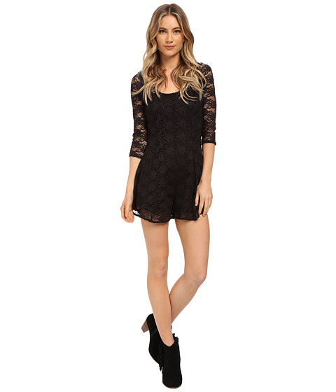 Imbracaminte Femei Billabong Sweet Fix Romper Black