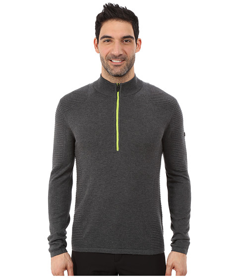 Imbracaminte Barbati Spyder Drayke Half Zip Sweater PolarTheory Green