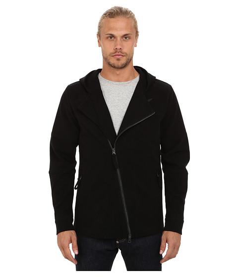 Imbracaminte Barbati Publish Magnus Bonded Knit Moto Jacket Black