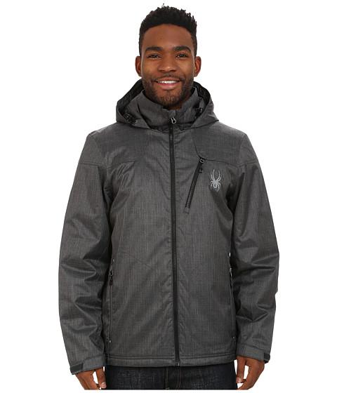Imbracaminte Barbati Spyder Vyrse Jacket Polar CrosshatchBlack