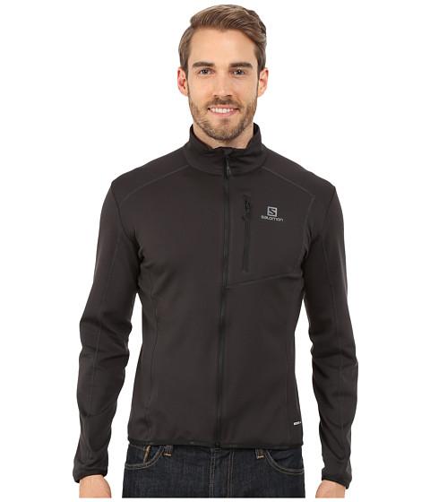 Imbracaminte Barbati Salomon Discovery Full Zip Black
