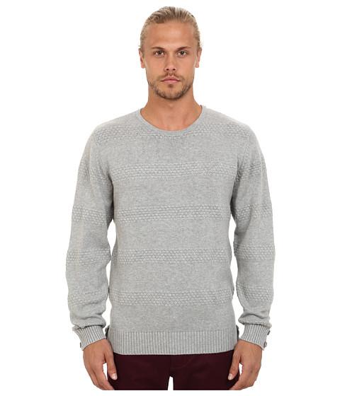 Imbracaminte Barbati Publish Neil 6 Gauge Knitted Crew Neck Sweater Grey