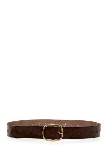 Accesorii Femei Linea Pelle Leather X Perforated Versatile Hip Belt TMORO