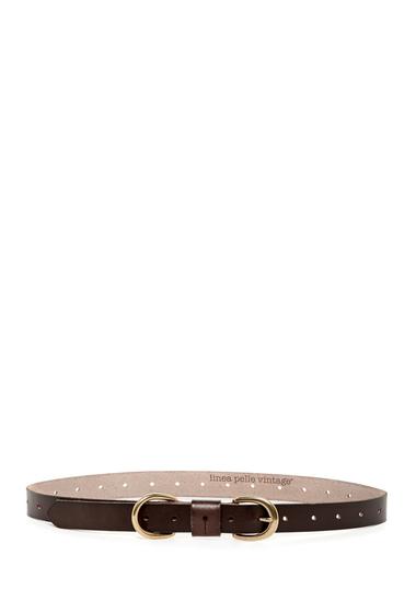 Accesorii Femei Linea Pelle Leather Skinny Hip Belt TMORO