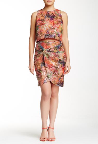 Imbracaminte Femei Nicole Miller Sequined Twist Skirt MULTi
