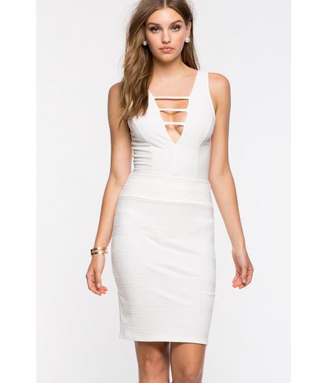 Imbracaminte Femei CheapChic Textured Pencil Skirt Ivory