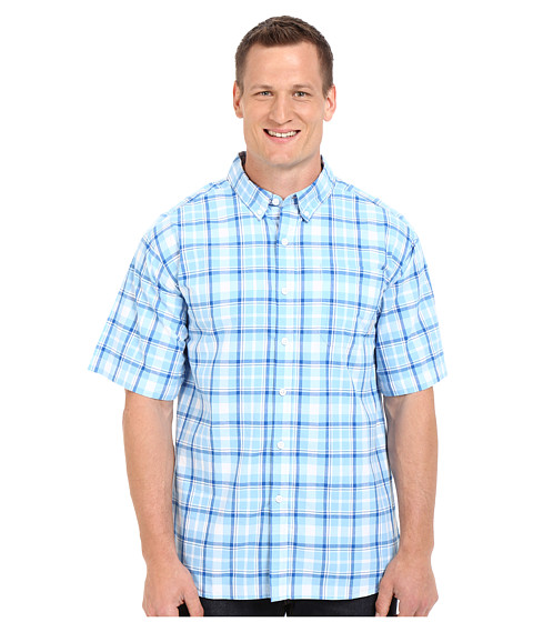 Imbracaminte Barbati Columbia Plus Size Rapid Riverstrade II Short Sleeve Shirt Blue Sky Plaid