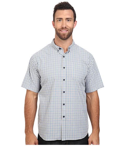 Imbracaminte Barbati Columbia Plus Size Rapid Riverstrade II Short Sleeve Shirt Steel Plaid