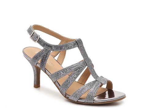 Incaltaminte Femei Naturalizer Pendant Glitter Sandal Pewter
