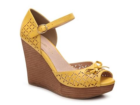 Incaltaminte Femei Restricted Melrose Wedge Sandal Yellow