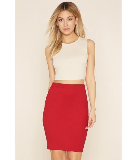 Imbracaminte Femei Forever21 Bodycon Pencil Skirt Red