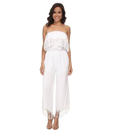 Imbracaminte Femei Trina Turk Arista Jumpsuit White