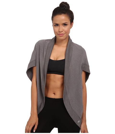 Imbracaminte Femei Trina Turk Quilted Kimono Jacket Heather Grey