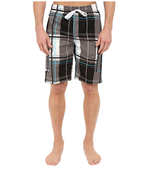 Imbracaminte Barbati US Polo Assn Block Plaid Shorts Black