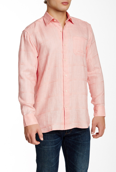 Imbracaminte Barbati Tommy Bahama Monte Carlos Linen Original Fit Shirt EX LT ZEST
