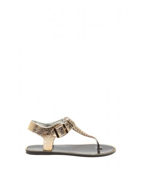 Incaltaminte Femei CheapChic Venomous Vixen Metallic Sandals Black