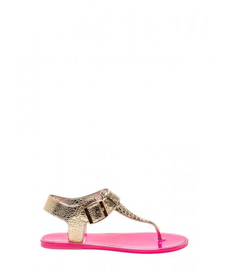 Incaltaminte Femei CheapChic Venomous Vixen Metallic Sandals Fuchsia