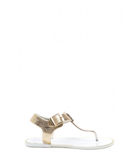 Incaltaminte Femei CheapChic Venomous Vixen Metallic Sandals White