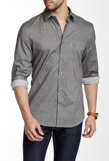 Imbracaminte Barbati Perry Ellis Speckled Regular Fit Shirt BERING SEA